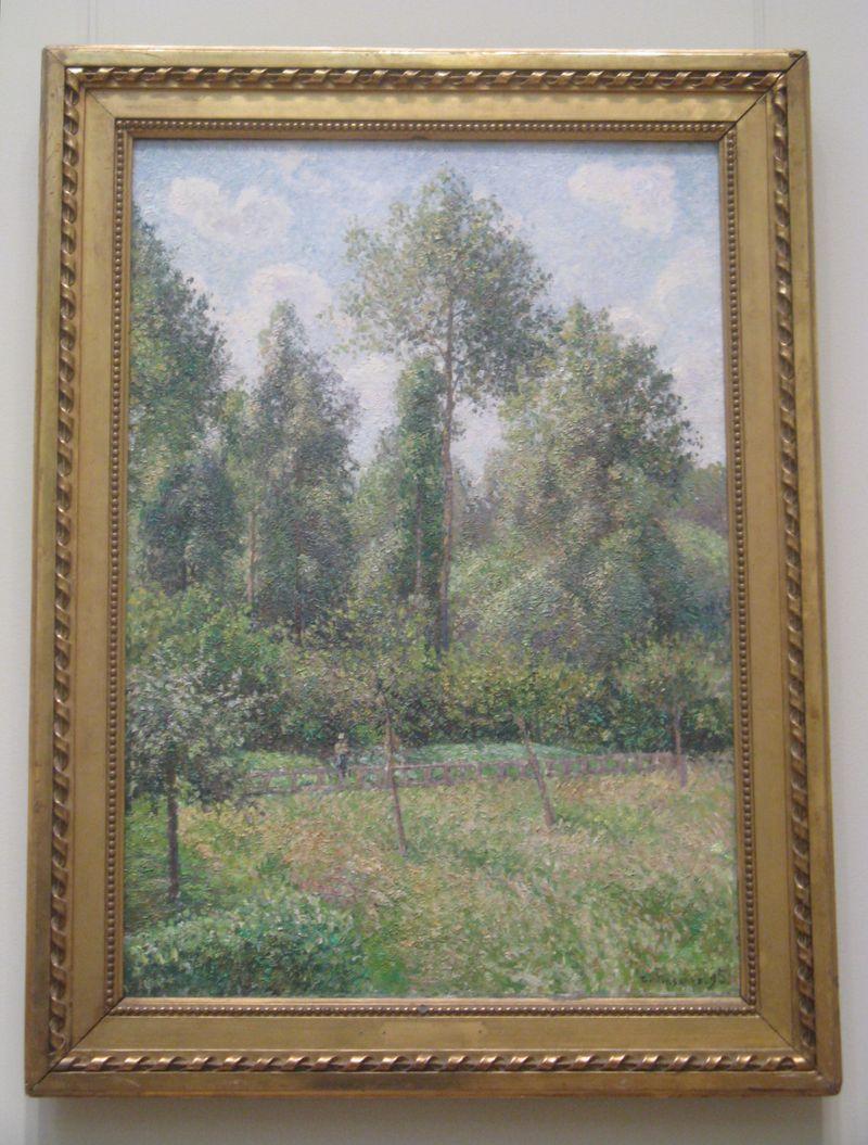 Camille Pissarro Poplars, Eragn