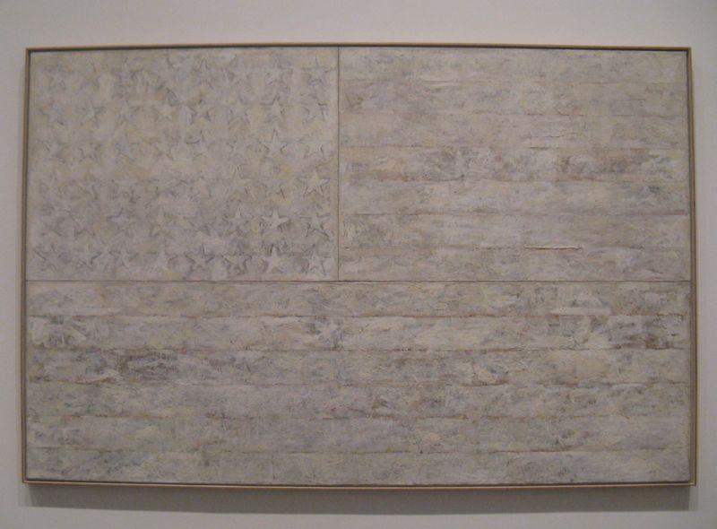 Jasper Johns White Flag