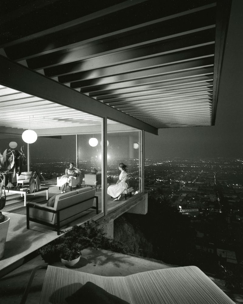 Case Study House #22  Photograph by Julius Shulman