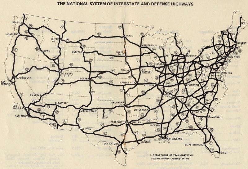 The Dwight D. Eisenhower System of Interstate and Defense Highways