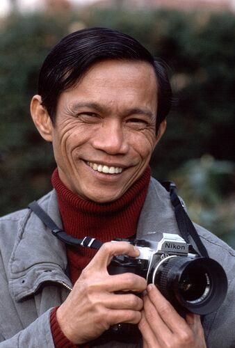 Dith Pran Photograph by Allan Tannenbaum