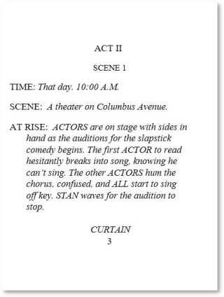 Two Auditions Page 3