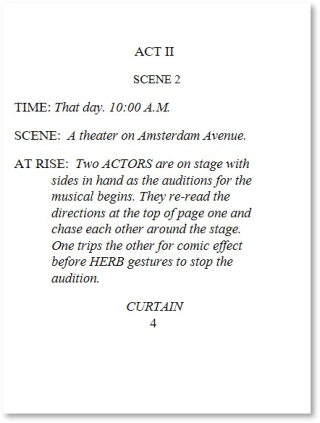 Two Auditions Page 4