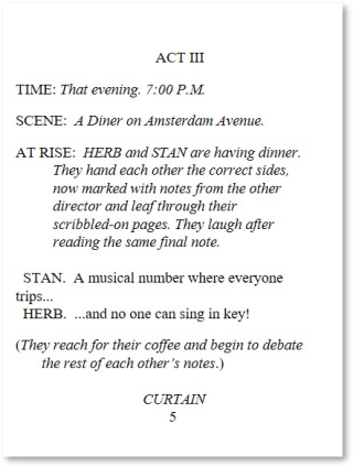 Two Auditions Page 5